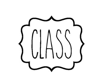 In This Class Banner