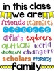 """In This Class We Are..."" Poster FREEBIE"