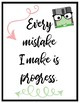 In This Class We Say - Growth Mindset Posters
