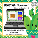 Digital Breakout Escape Room - Back to School Digital Breakout