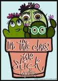 In This Class We Stick Together-Poster