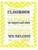 In This Classroom We  - {Poster, Motivation, Class Decoration}
