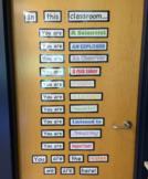 In This Classroom Door Sign