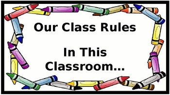 In This Classroom - Motivational Posters (Crayon Theme)