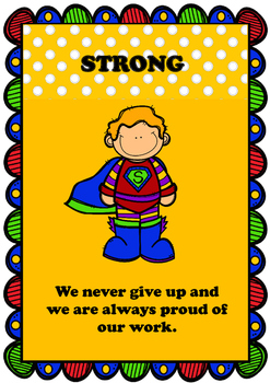 In This Classroom We Are... Positive Behaviour Posters