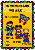 In This Classroom We Are... Positive Behaviour Anchor Char