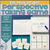 In This Order: A Social Skills Game About Perspective Taking