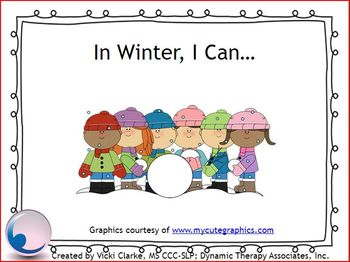 In Winter, I Can...