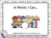 In Winter, I Can...Book & Companion Speech Language Activi