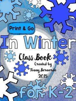 In Winter Print & Go Class Book