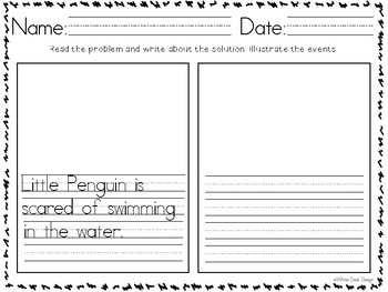 In With A Splash! Story Response Sheets