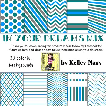 In Your Dreams Mix Digital Papers