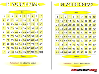 In Your Prime - Prime Math Games