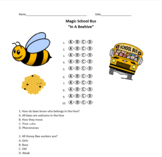 In a Beehive - Magic School Bus Quiz - Multiple Choice