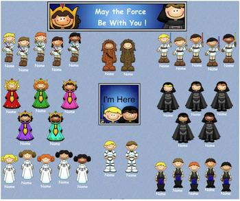 May the Fourth Be With You: In a Classroom Far, Far Away Attendance Checker
