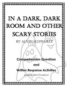In a Dark, Dark Room {Comprehension and Written Response Activities}