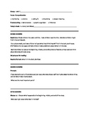 In a Dark, Dark Wood Guided Reading Plan Level E