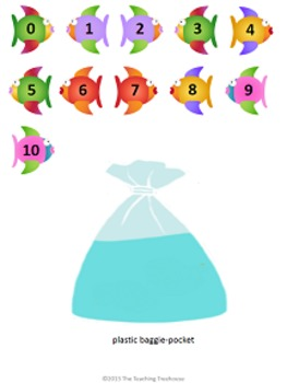 In a Fishbowl Dividing by 2 File Folder Game ~ Division Activity/Center