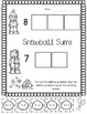 Winter NO PREP Printables! Kindergarten Common Core Math and Literacy