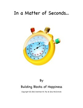 """Back to School ~ Behavior ~ Mindful  """"In a Matter of Seconds"""""""
