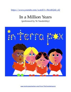 In a Million Years: a call for peace and brotherhood (Christmas song)