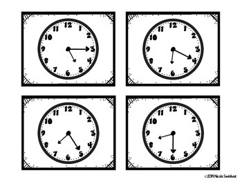 In a New York Minute!! Identifying the Minutes on the Clock (2 levels)