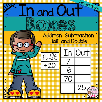 In and Out Boxes Addition and Subtraction