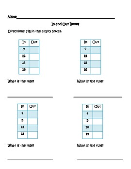 In and Out Boxes with Rules (vertical)