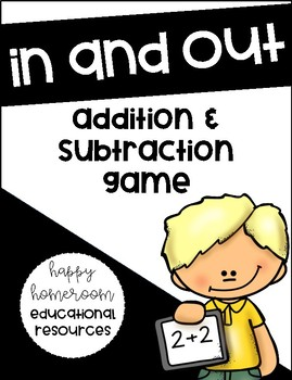 In and Out Math Game