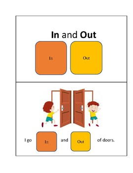 In and out core vocabulary workbook