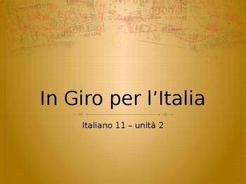 In giro per Italia