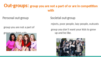 Sociology - In groups, Out groups, and Reference groups