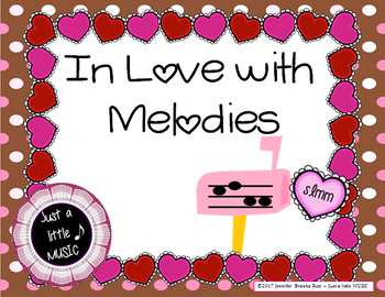 In love with Melodies - Valentine activity to practice melodic notation {la}