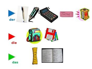 In meiner Schultasche / In my school bag