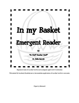In my Basket, emergent reader