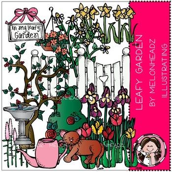 Melonheadz: In my leafy garden clip art