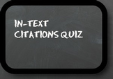 MLA In-text Citations Assessment