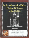 In the Aftermath of War: Cultural Clashes of the Twenties