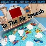 In the Air Speech: An Articulation Activity for Speech Therapy