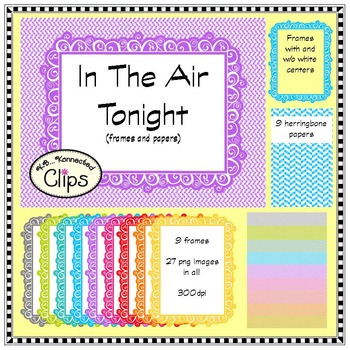 In the Air Tonight - Paper and Frame Collection