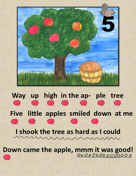In the Apple Tree Percussion Activity