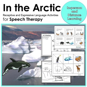 In the Arctic Expressive and Receptive Language Activities