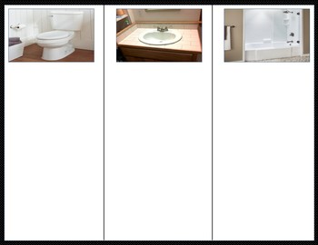 In the Bathroom - Non-Identical Sorting