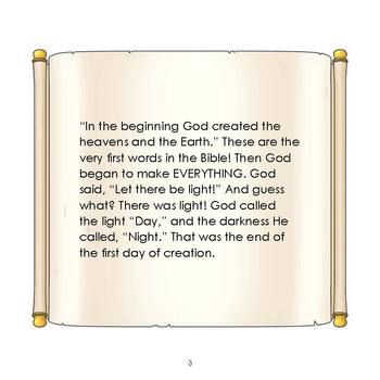 In the Beginning Christian Read-Along eBook & Audio Track