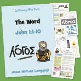 In the Beginning was the word - Kidmin Lesson & Bible Crafts
