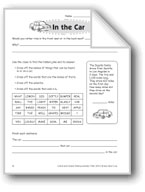 In the Car (Thinking Skills)