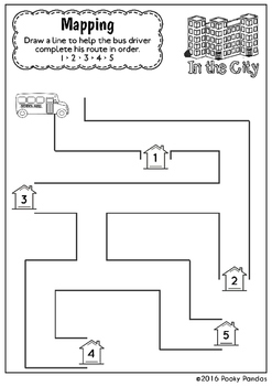 In the City Activity Pack - Math