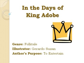 In the Days of King Adobe - Skills Power Point