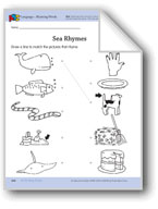 In the Deep Ocean: Language and Math Activities