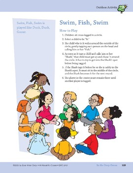 In the Deep Ocean: Outdoor Activity, Song, and Rhyme with Actions